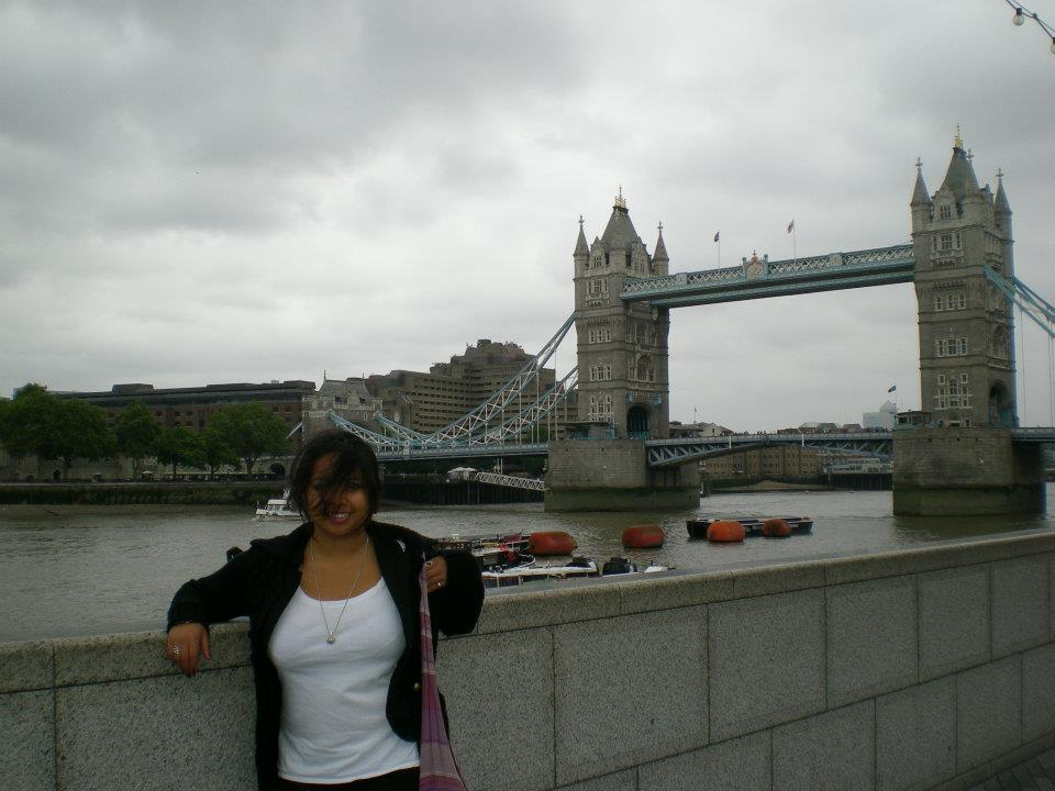 Ten years ago – London